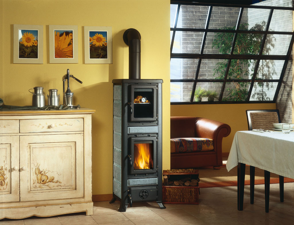 Kitchen Fireplace For Cooking Wood Stoves Fulvia Forno La Nordica Extraflame