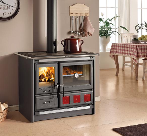 Cucine a legna rosa xxl la nordica extraflame - Prezzi cucine a legna ...