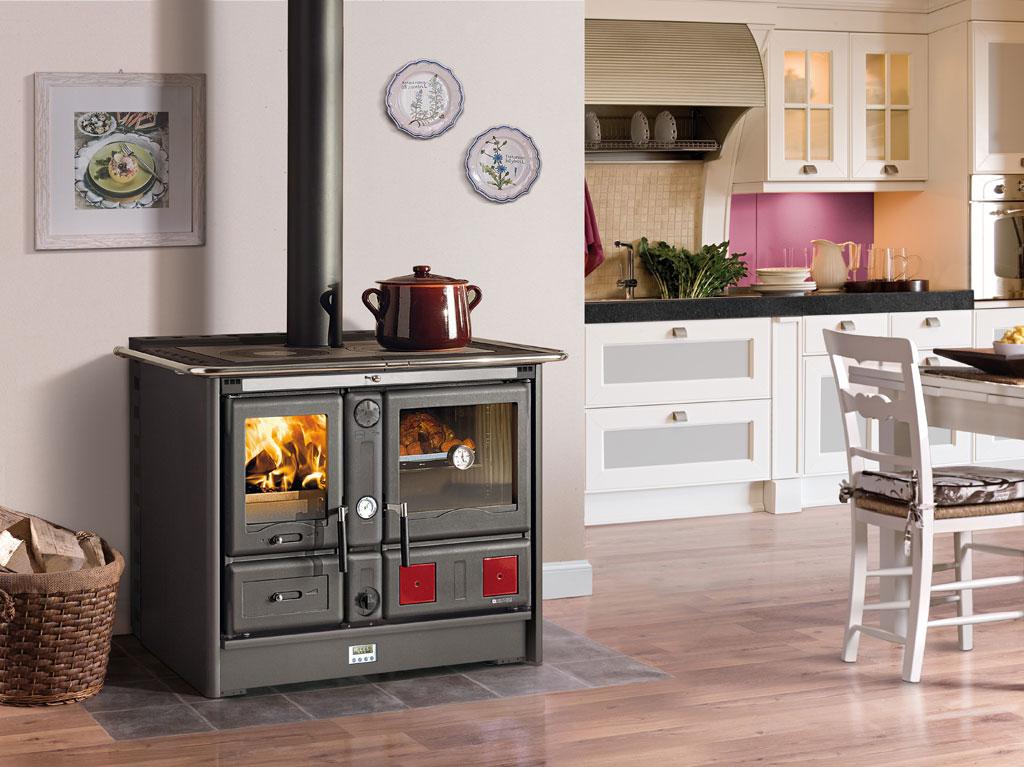 Cucine a Legna | TermoRosa XXL Ready D.S.A. - 2.0 | La Nordica ...