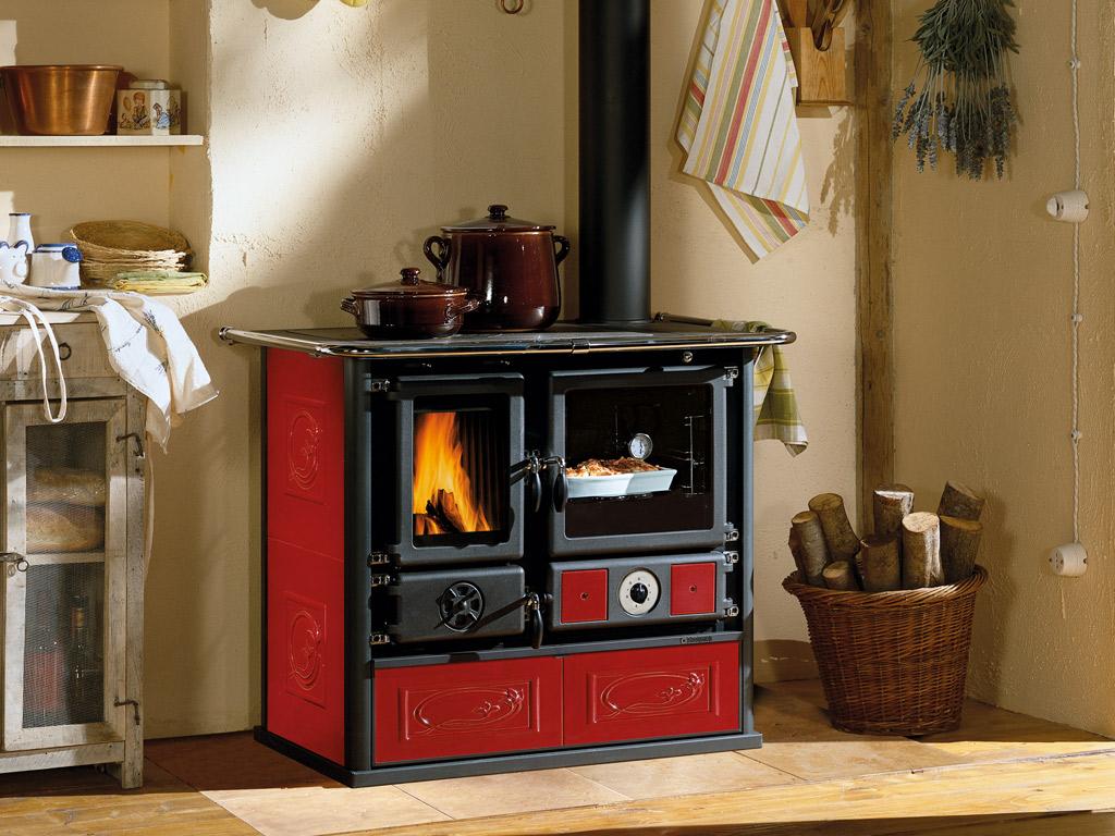 Cucine a legna termorosa d s a la nordica extraflame