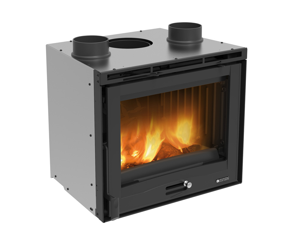 wood fireplaces inserto 60 ventilato la nordica extraflame