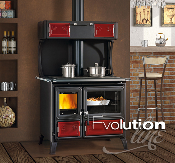 Woodburning Cookers Milly La Nordica Extraflame