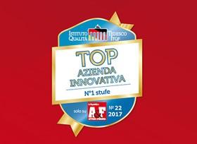 """La Nordica conquista il titolo """"Top Azienda Innovativa 2017"""""""