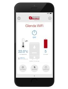 Control your stove with the Total Control app
