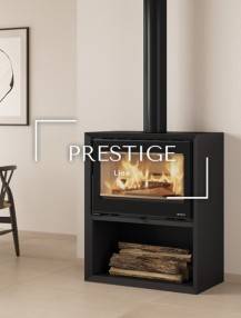 Prestige Line, wood burning products