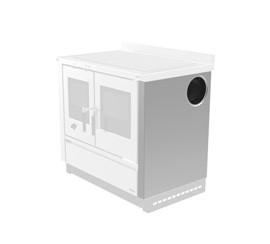 Кухонные плиты Padova - Фланцы для бокового подключения дымохода