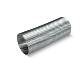 Crimped aluminium pipe