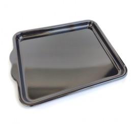 Enamelled backing tray