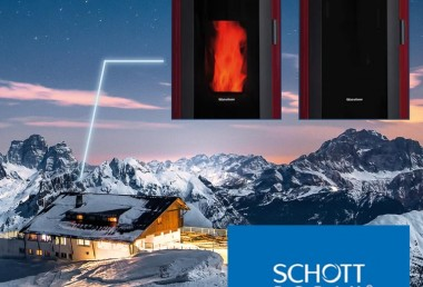 Glass-ceramic Schott Robax® NightView