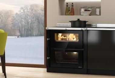 Встраиваемые дровяные кухонные плиты