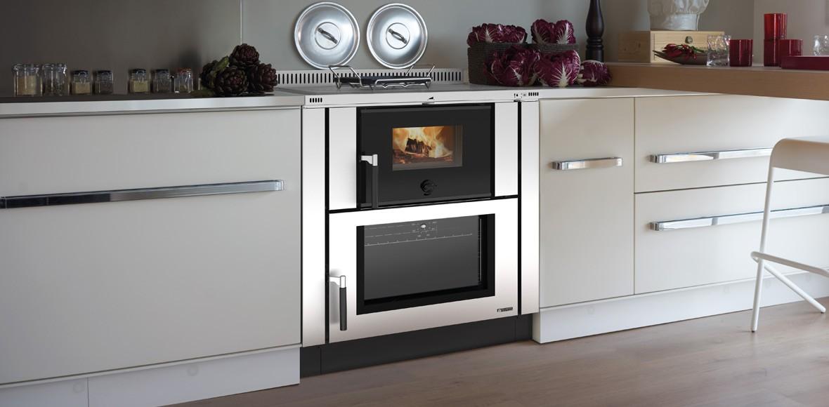 Le cucine a legna da inserimento | La Nordica - Extraflame
