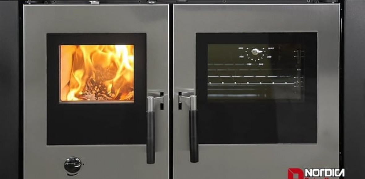 Padova, Verona, Vicenza: La Nordica-Extraflame new wood burning insertable kitchens