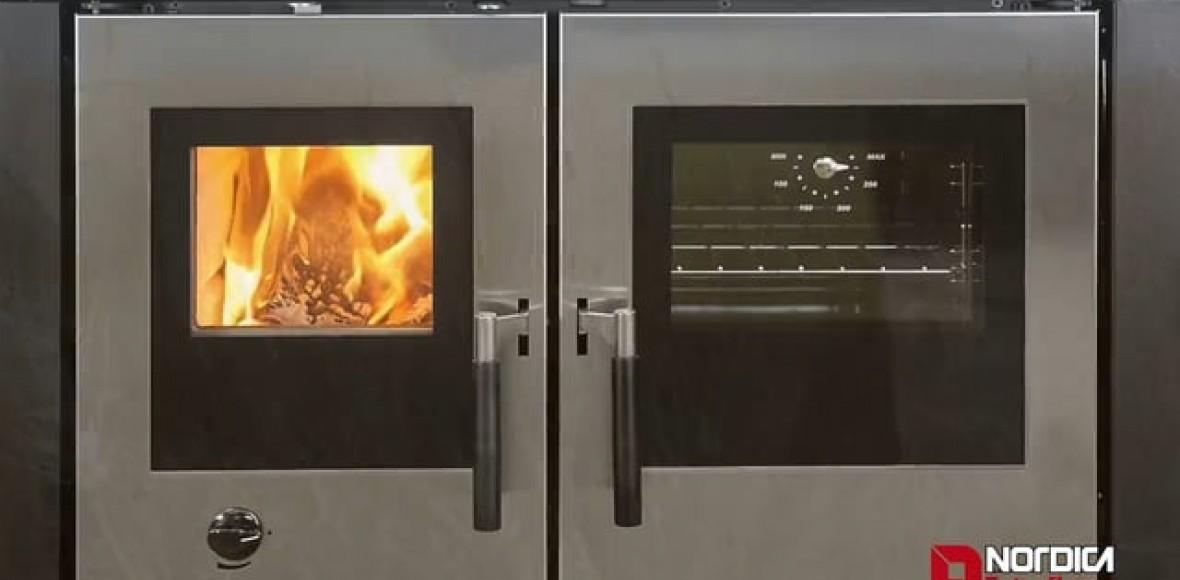 Les cuisinières à bois encastrables | La Nordica - Extraflame