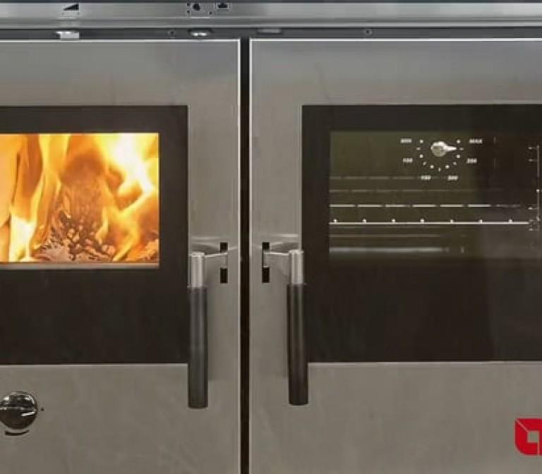 Padova, Verona, Vicenza: les cuisinières à bois encastrables La Nordica-Extraflame