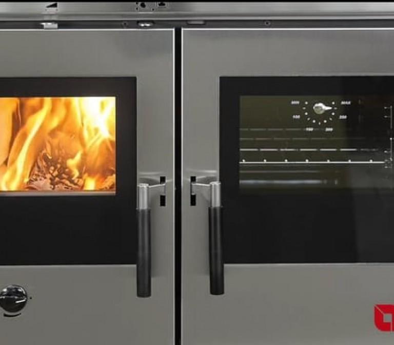 Padova, Verona, Vicenza: La Nordica-Extraflame Holzbefeuerte Küchenherdeinsätze