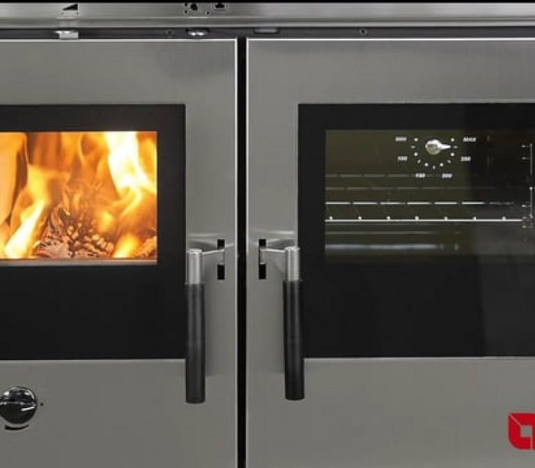 Padova, Verona, Vicenza: cocinas de leña insertables La Nordica-Extraflame